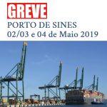 Greve Porto de Sines